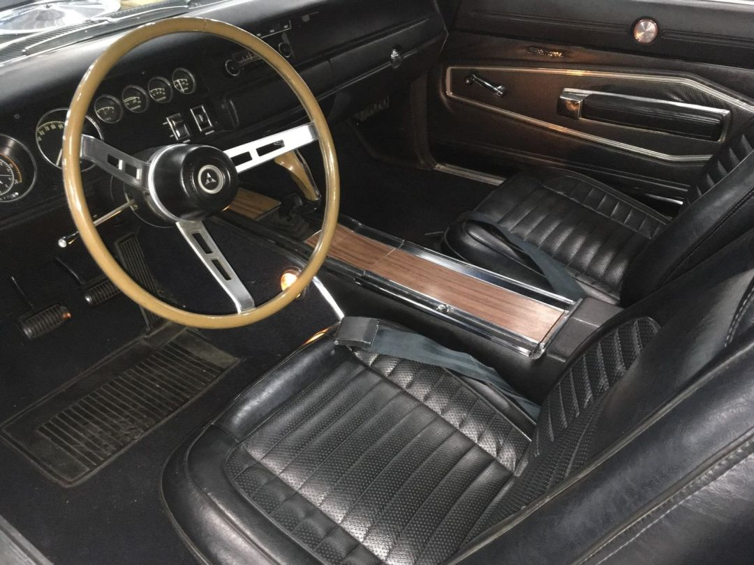 1970 Dodge Charger 440 R/T Interior
