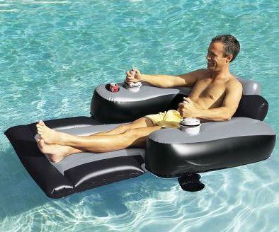Motorized Pool Lounger  FANtvnl