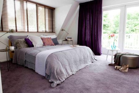 Tapijt voor een multifunctionele slaapkamer  FANtvnl