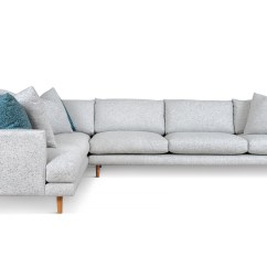 Deep Sofa Daybed Linen Cotton Blend Frankie Modular Sofas Fanuli Furniture