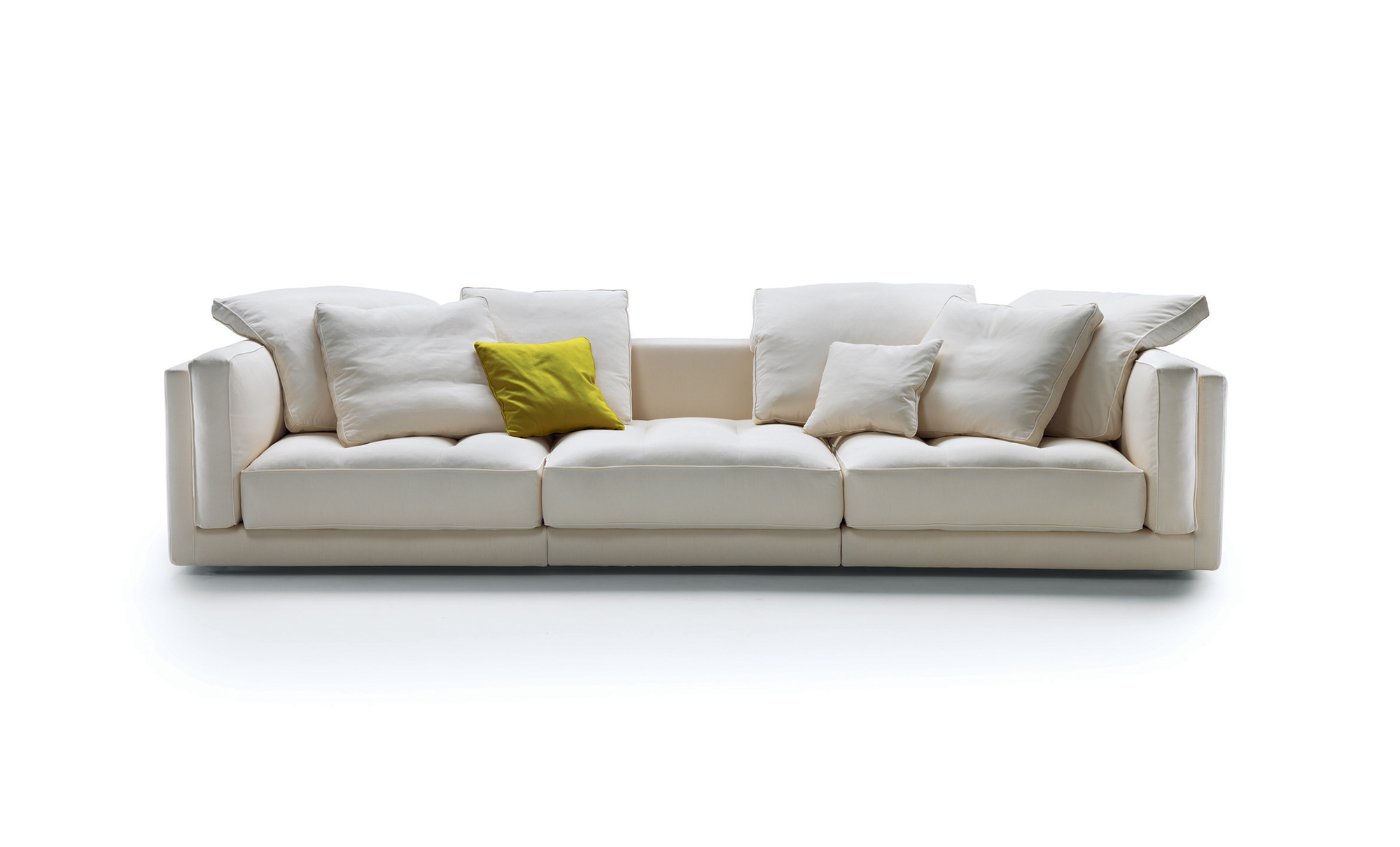 moods 3 seater leather sofa bed cheap 2 lucien by flexform mood fanuli furniture