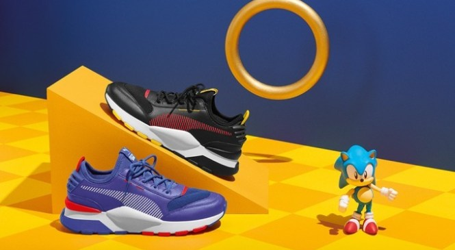 Puma lanzará nueva colección de zapatillas inspiradas en Sonic
