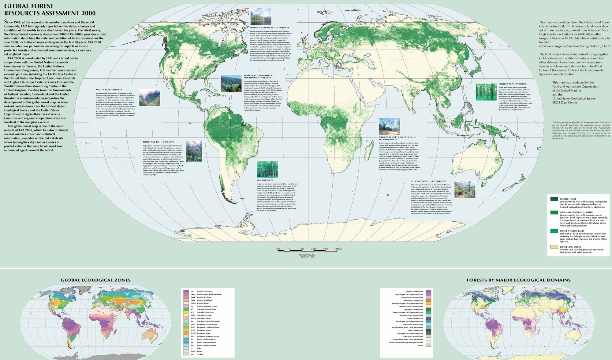 hight resolution of global forest resources assessment 2000 460 kb
