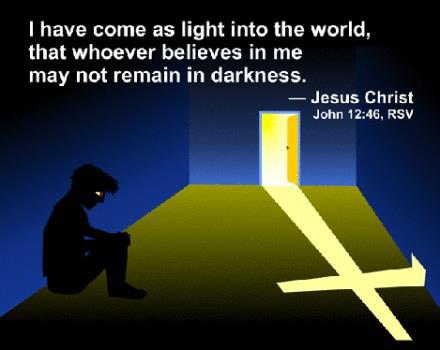 約翰福音第十二章37-50節 - 趁有光就趕快信主