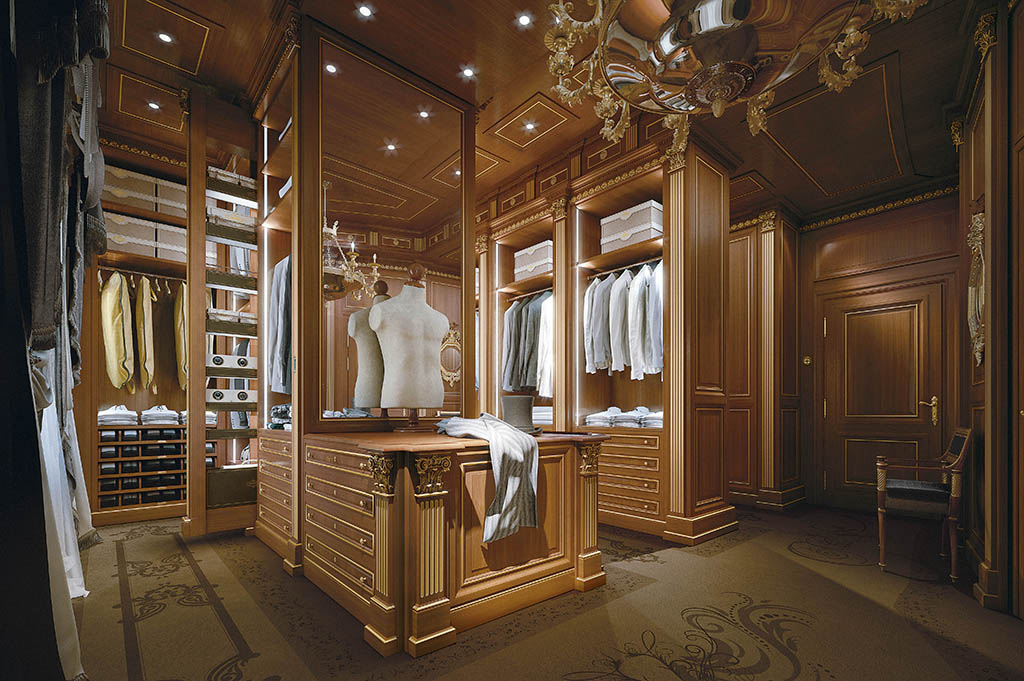 Bespoke Walk In Closet Made In Italy Prince By Faoma