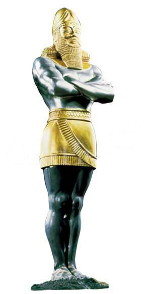 Image result for nebuchadnezzar's statue