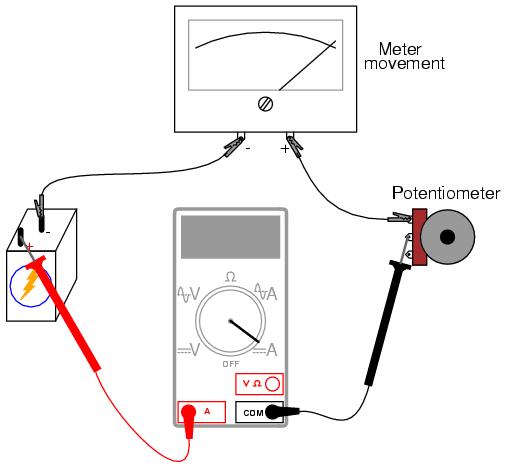 potentiometer and rheostat wiring