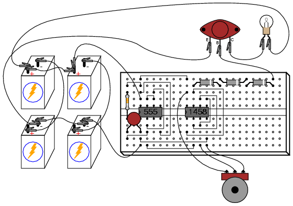 linear sawtooth waveform generator circuit circuit diagram