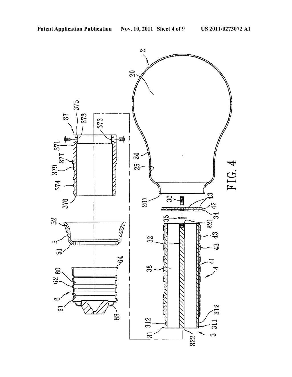 dual filament light bulb diagram