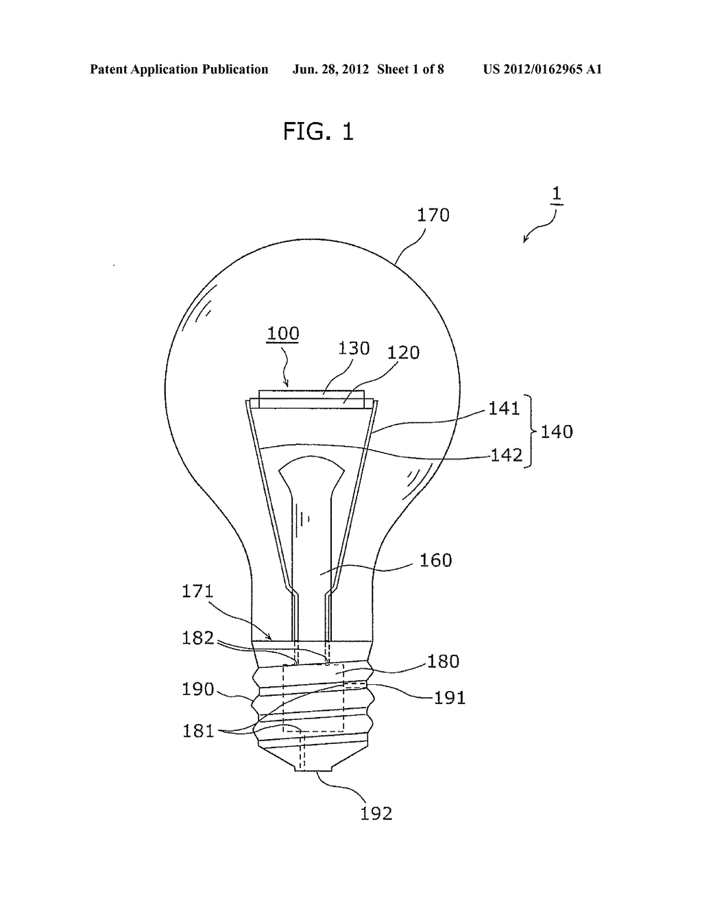 Schematic Drawing For Bulb