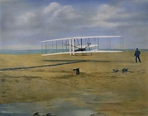 First powered flight