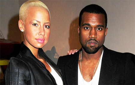 Amber Rose desconsolada cuando terminó con Kanye West