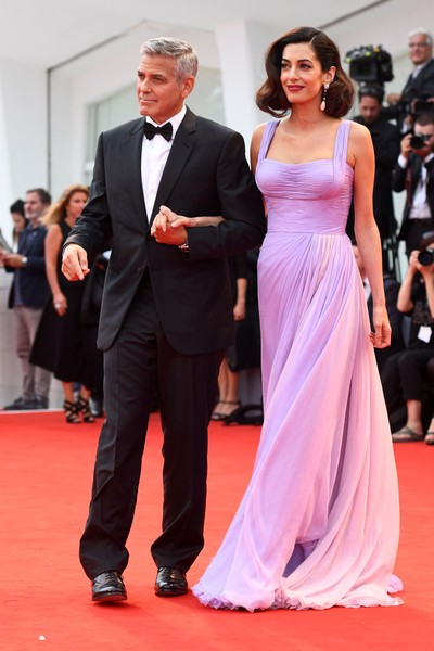 George y Amal Clooney no querian nombres ridiculos de Hollywood