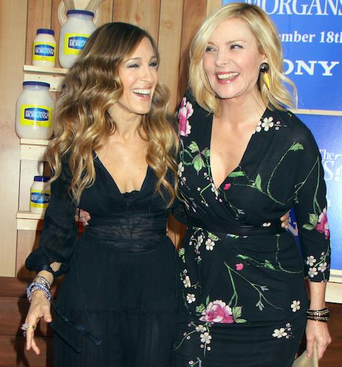 Kim Cattrall: Sarah Jessica Parker empezó el drama en SATC3