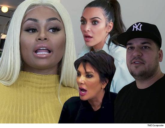 Blac Chyna furiosa las Kardashians la acusan de cancelar su reality LOL!