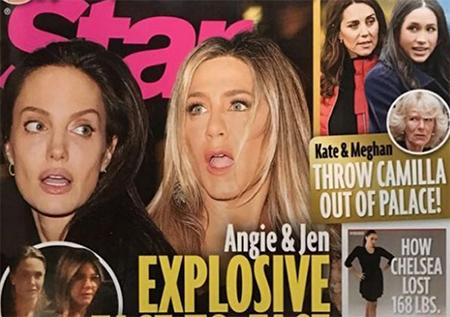 Angelina y Jennifer Aniston: explosivo encuentro cara a cara! (Star)
