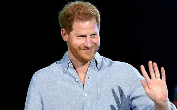 Prince Harry solo at Global Citizen's Vax Live in LA