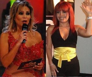 Roberto Martínez , Magaly Medina, Gisela Valcarcel