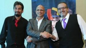 Jaime Bayly, Beto Ortiz, Aldo Miyashiro, Federico Anchorena
