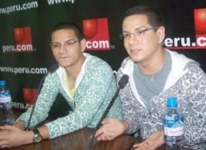 Beto Ortiz,  Juan Barbarán,  Miguel Barbarán, Carlos Cacho