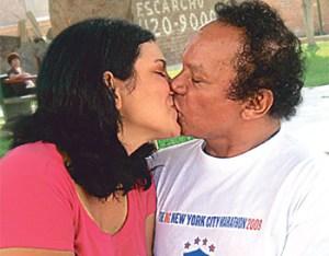 """Pablo Villanueva """"Melcochita"""", Montserrat Seminario"""