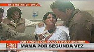 Lourdes Flores, Gaby Pérez del Solar