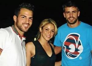 Shakira, Gerard Piqué, Antonio de la Rúa