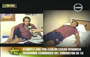 Carlos Cacho, Humberto Yzarra