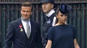 David Beckham, Elton John, Mario Testino, Mr Bean