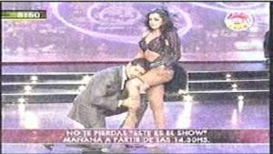 Marcelo Tinelli, Larissa Riquelme