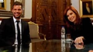 Cristina Fernández, Ricky Martin
