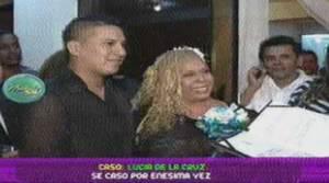 Lucía de la Cruz, Luisito Caycho