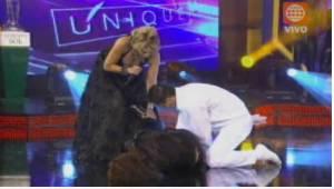 El Gran Show, Gisela Valcárcel, Maricielo Effio