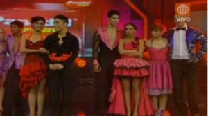 Érika Villalobos, Ariel Bracamonte, Jean Paul Santa María, Anahí de Cárdenas,El Gran Show