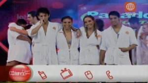 El gran show, Televisión, Marisol Aguirre, Maricielo Effio, Jean Paul Santa María, Jesús Neyra, Belén Estévez