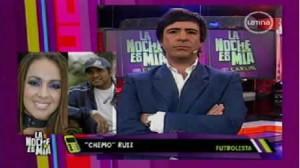 Marco Ruiz, Dorita Orbegoso, Katy García, Génesis Tapia