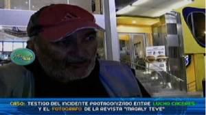 Lucho Caceres, Alberto Linares