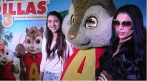 Alvin y las ardillas 3, Fiorella Rodríguez