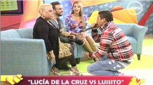 Lucía de la Cruz, Luis Caycho, Amor Amor Amor