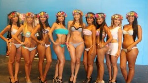 Miss Hawaiian Tropic, Rumba Sur, Wosmos 2011, Tropic Beauty Model Search, Georgette Cárdenas, Kathy Mayer