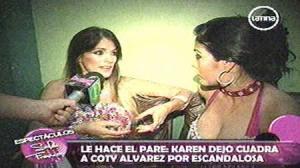 Karen Dejo , Coty Álvarez