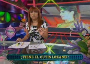 Magaly Medina , Tilsa Lozano , Juan Vargas