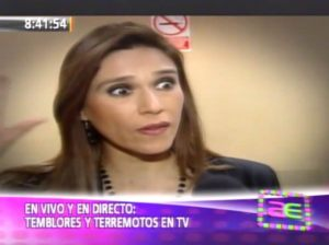 Verónica Linares , Federico Salazar , Simulacro Nacional de Sismo y Tsunami , Videos de Espectáculos , Video del Día