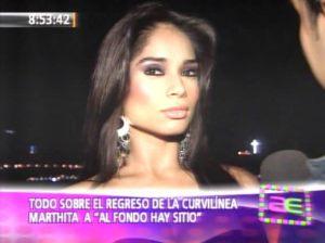 Johany Vega , Videos de Espectáculos , Al Fondo Hay Sitio, Marthita