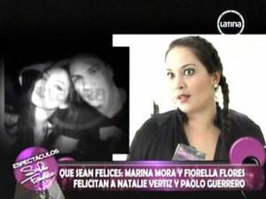 Natalie Vértiz , Paolo Guerrero , Videos de Espectáculos , Marina Mora , Claudia Abusada