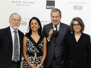 Mario Testino , Nadine Heredia , Luis Peirano , Martha Zegarra , MATE , Asociación Mario Testino
