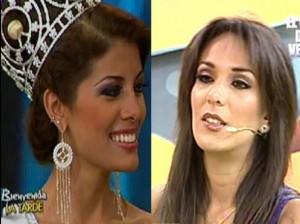 Cindy Mejía , Silvia Conejo , Miss Perú 2012 , Miss Perú Universo 2012 , Melissa Paredes , Amor Amor Amor