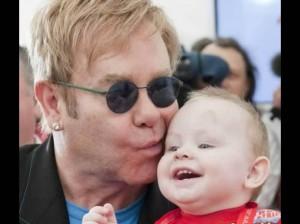 Elton John , David Furnish , Zachary
