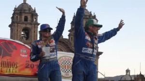 competencia , farándula peruana , rally , Combate , Caminos del Inca 2012 , Alejandra Baigorria