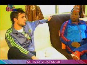 Esto es Guerra , Angie Arizaga , Nicola Porcella